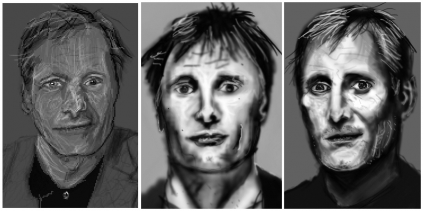 Viggo Mortensen by Zilmari